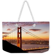 Morning Over San Francisco Weekender Tote Bag