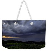 Morning Squall Weekender Tote Bag