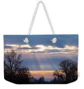 Mornings Heavenly Light Weekender Tote Bag