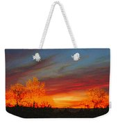 Morning's Magical Light Weekender Tote Bag