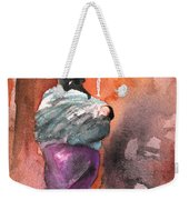 Moroccan Woman With Baby Detail Weekender Tote Bag