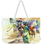 Morrocan Market 04 Weekender Tote Bag by Miki De Goodaboom