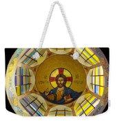 Mosaic Christ Weekender Tote Bag