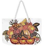 Mosaic Fruits Weekender Tote Bag
