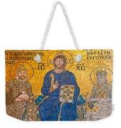mosaic inside Hagia Sophia  Weekender Tote Bag