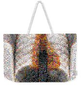 Mosaic Of Chest X-ray Weekender Tote Bag