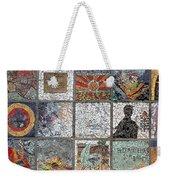 Mosaics Street At Birzeit Weekender Tote Bag