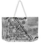 Moscow: Map, 17th Century Weekender Tote Bag