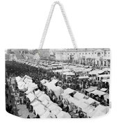 Moscow Russia - The Great Sunday Market - C 1898 Weekender Tote Bag