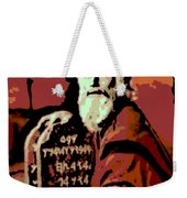 Moses And The 10 Commandments Weekender Tote Bag