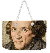 Moses Mendelssohn, German Philosopher Weekender Tote Bag
