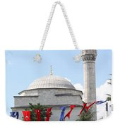 Mosque And Flags Weekender Tote Bag