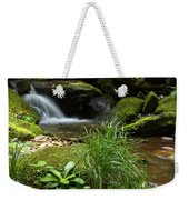 Moss And Water And Ambience Weekender Tote Bag