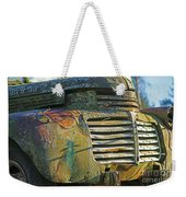 Moss Covered Grill Weekender Tote Bag