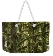 Moss Covered Trees, Hoh Rainforest Weekender Tote Bag