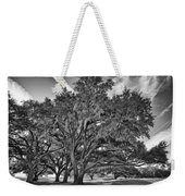 Moss-draped Live Oaks Weekender Tote Bag