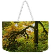 Moss In The Forest Weekender Tote Bag