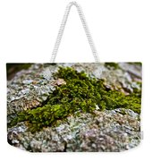Moss In The Middle Weekender Tote Bag