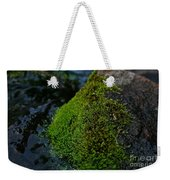 Mossy River Rock Weekender Tote Bag