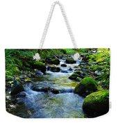 Mossy Rocks And Water   Weekender Tote Bag
