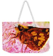 Moth Two Weekender Tote Bag