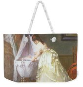 Mother And Baby Weekender Tote Bag by Fritz Paulsen