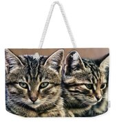 Mother And Child Wild Cats Weekender Tote Bag
