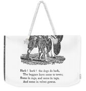 Mother Goose, 1833 Weekender Tote Bag