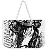 Mother Goose: Kiss Weekender Tote Bag
