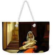 Mother Nursing Her Child Weekender Tote Bag