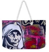 Mother Theresa Living Simply Weekender Tote Bag
