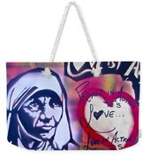 Mother Theresa Service Weekender Tote Bag