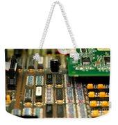 Motherboard Weekender Tote Bag by Henrik Lehnerer