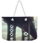 Motion Blur Weekender Tote Bag