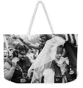 Motorcycle Club Wedding Weekender Tote Bag by Granger