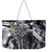 Motorcycle Engine Weekender Tote Bag