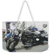 Motorcycle Ride - Three Weekender Tote Bag