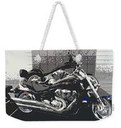 Motorcycle Ride - Two Weekender Tote Bag