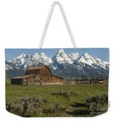 Moulton Barn - Grand Tetons Weekender Tote Bag