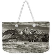 Moulton Barn And The Grand Tetons Weekender Tote Bag