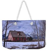 Moulton's Pink House On Mormon Row Weekender Tote Bag