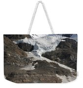 Mount Andromeda And Athabasca Glacier Weekender Tote Bag