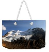 Mount Athabasca From The Columbia Icefields Weekender Tote Bag