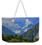 Mount Cook Weekender Tote Bag