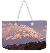Mount Fuji Weekender Tote Bag