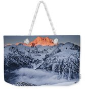 Mount Rolleston In The Dawn Light Weekender Tote Bag by Colin Monteath
