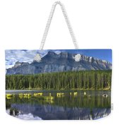 Mount Rundle And Boreal Forest  Weekender Tote Bag