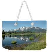 Mount Tallac Sky Projections Weekender Tote Bag