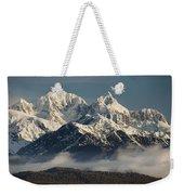 Mount Tasman And Mount Cook Southern Weekender Tote Bag by Colin Monteath