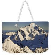 Mount Tutoko At Dawn Hollyford Valley Weekender Tote Bag by Colin Monteath
